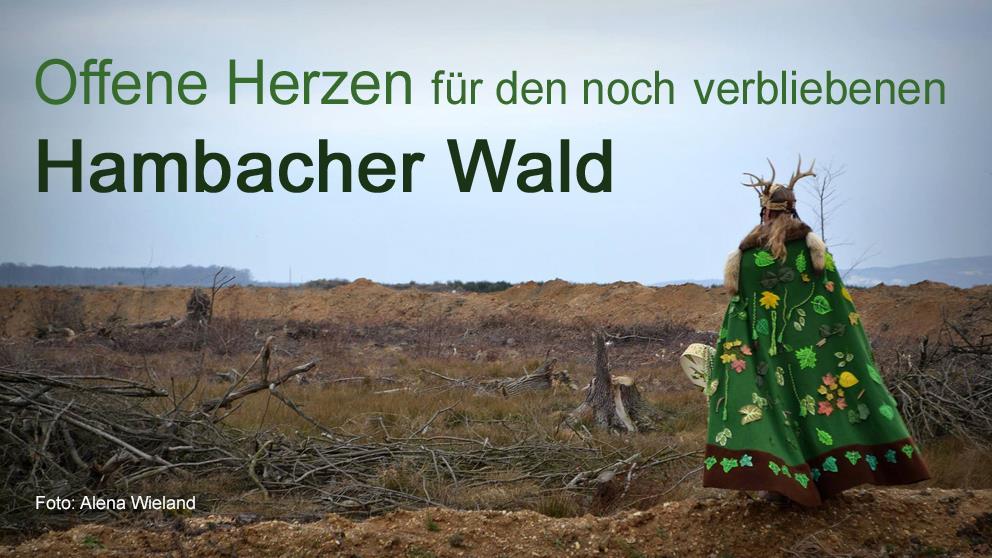Rote Linie gegen Kohle - Klima schützen! Wald retten! @ Tagebau Hambach  | Niederzier | Nordrhein-Westfalen | Deutschland