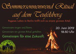 Sommersonnenwend Ritual auf dem Teufelsberg @ Drachenberg